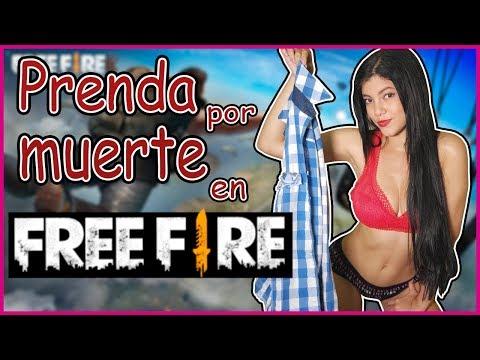 Me quito una prenda por cada muerte en FREE FIRE | Marta Mar�a Santos