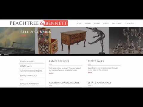 Atlanta Estate Sale Web Design Company