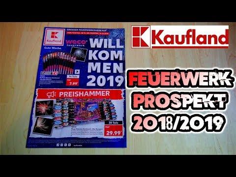 KAUFLAND FEUERWERKS PROSPEKT 2018/2019   Silvester2K