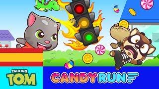 🍭 ¡Cara… melo! 🍭 Talking Tom Candy Run 🍭 Teaser del NUEVO JUEGO