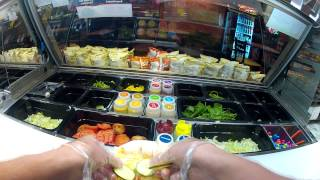 Go Pro - Subway Sandwiches...