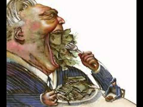 RICH EATING                     EVERYTHING, STARVING THE PEOPLE