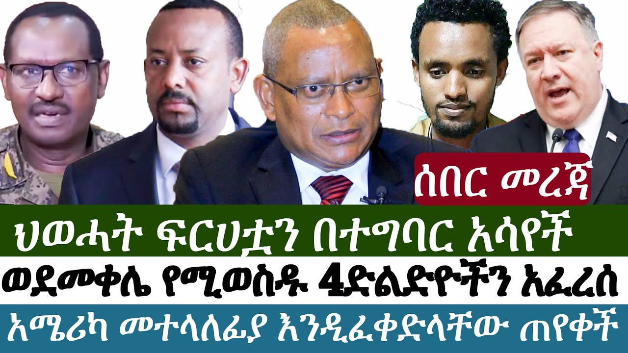 Reports say Four bridges that lead to Mekele were demolished by TPLF