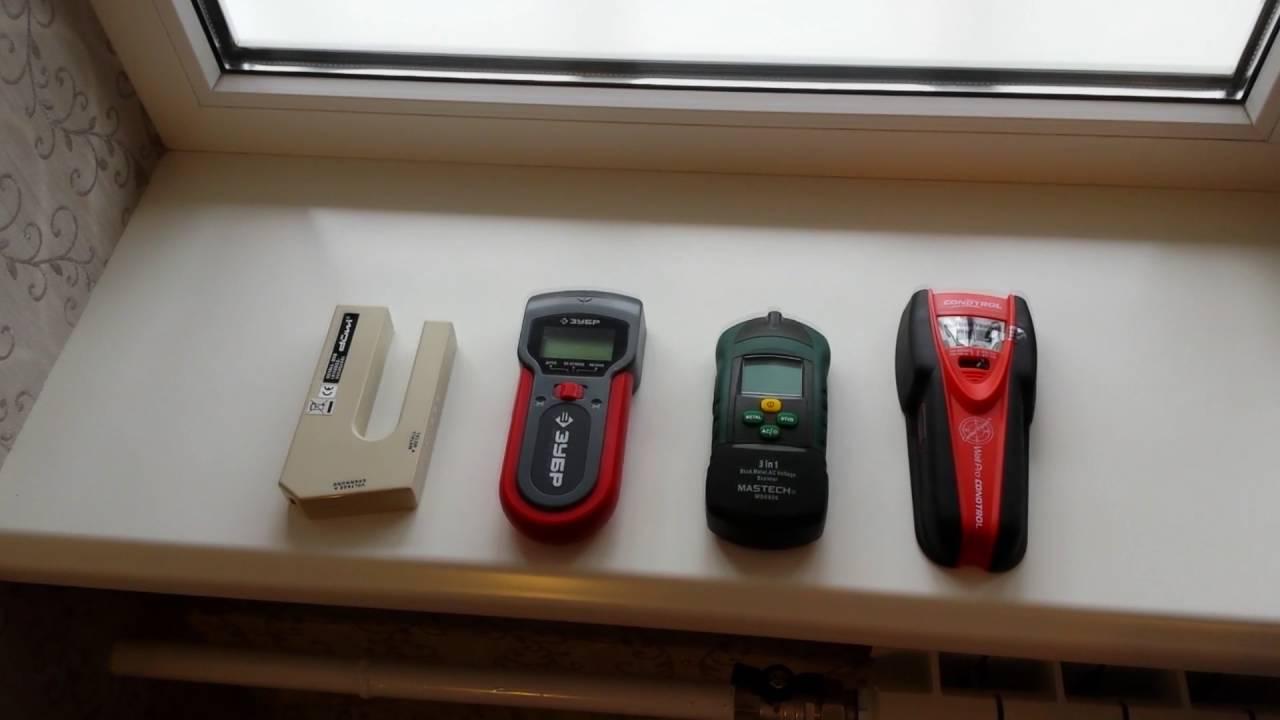 Сравнительный тест детекторов скрытой проводки