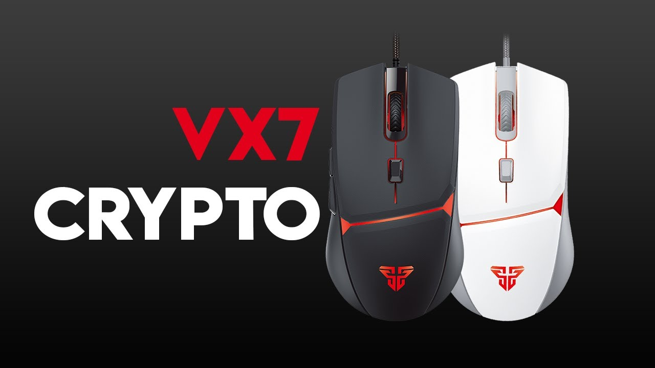 VX7 CRYPTO Macro Gaming Mouse