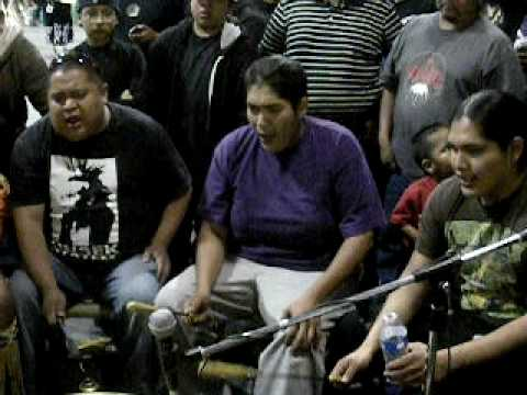 Black Creek Singers~Contest Song,Sobriety Pow Wow 2010