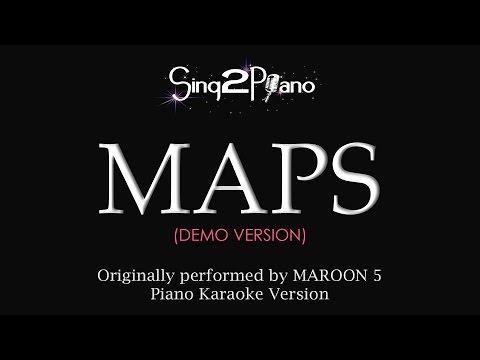 MAPS (Piano Karaoke Demo) Maroon 5