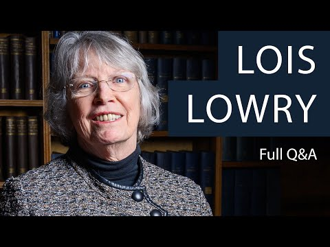 Lois Lowry | Full Q&A at The Oxford Union
