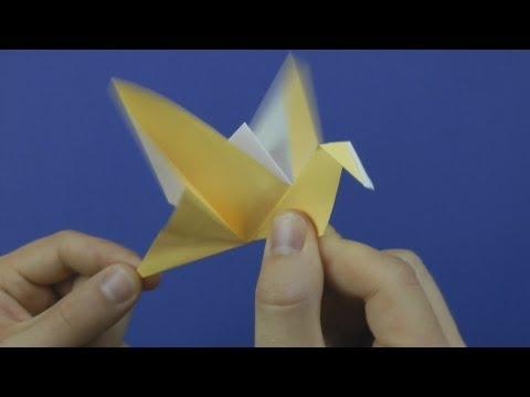 Flattervogel - Faltanleitung