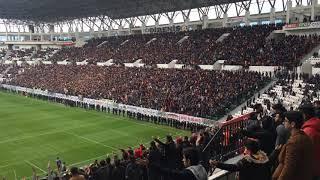 Diyarbakır Stadyumunda Balina Şov!