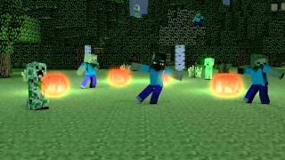 1 Hour of the Minecraft Harlem Shake