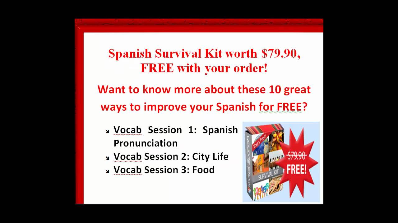 Is it easier to learn to speak, read or write spanish?