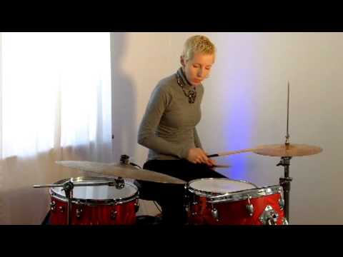 beginner drum lesson 12 funky syncopated snare youtube. Black Bedroom Furniture Sets. Home Design Ideas