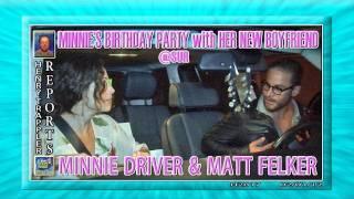 MINNIE DRIVER & MATT FELKER H2817 Paparazzi Henry