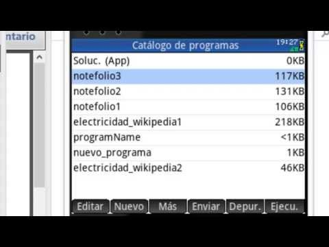 HP PRIME: PDF, ENVIAR DOCUMENTO PDF A HP PRIME