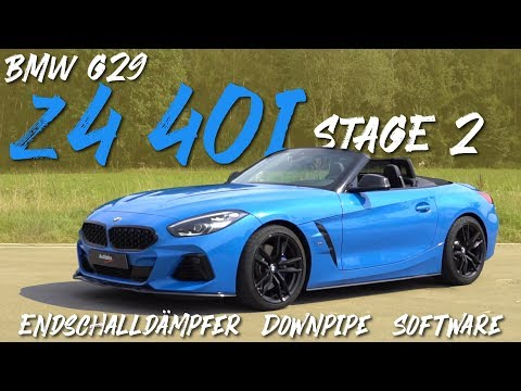 BMW Z4 40i (G29) | Stage 2 OPF | Endschalldämpfer | Downpipe | Software