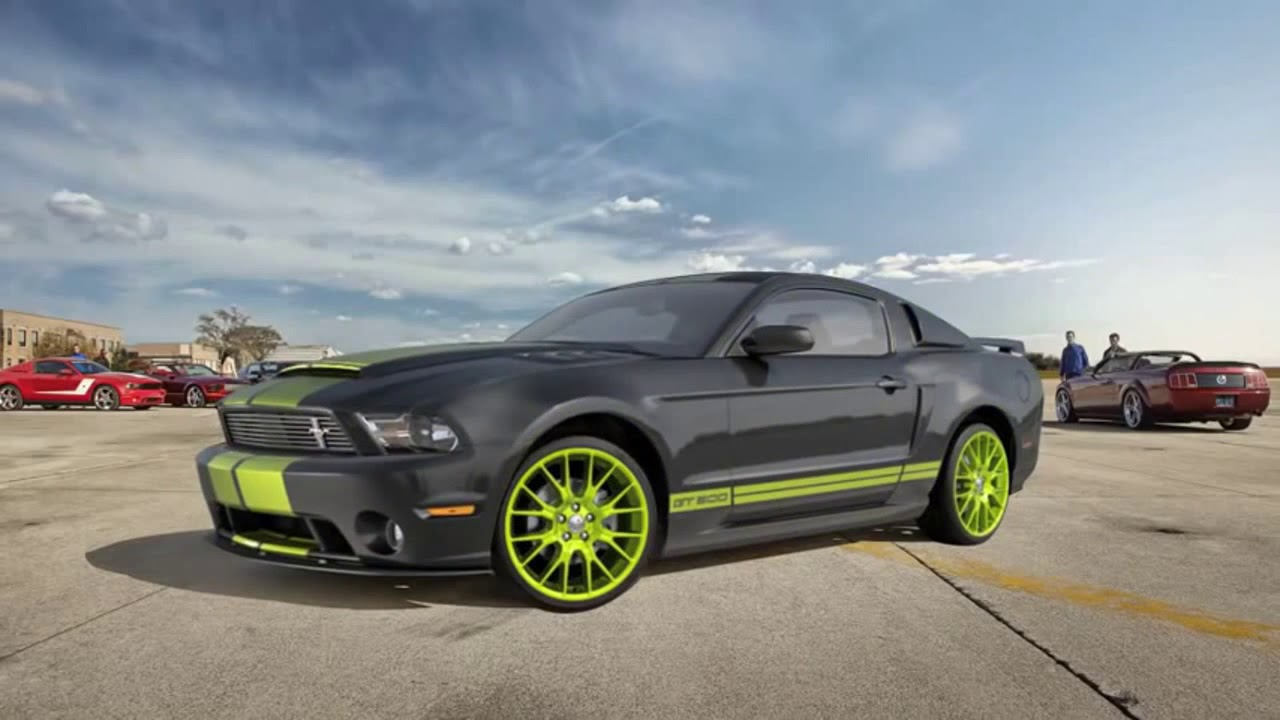 Ford Mustang Live Wallpaper on Android 720 - YouTube