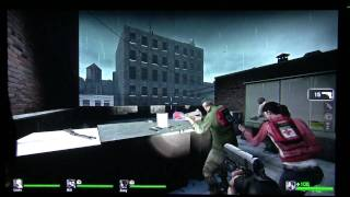 Left 4 Dead on 1080P projector