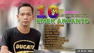 Gambar cover 1O mp3 NON STOP Lagu TERBAIK  -  EMEK ARYANTO