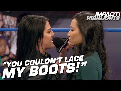 Gail Kim Comes Out Of Retirement To Face Tessa Blanchard!   IMPACT! Highlights Mar 29, 2019