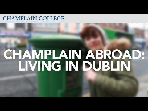 Champlain Abroad: Living in Dublin   Champlain College