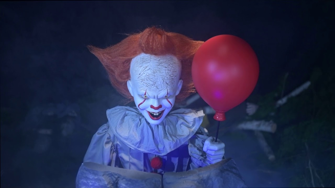 Party City Animated It Chapter Two Pennywise Pop Up Youtube