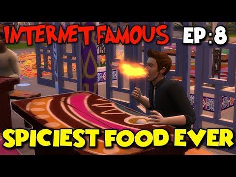 SIMS 4   INTERNET FAMOUS (EP.8) \\ SPICIEST FOOD EVER!?!?