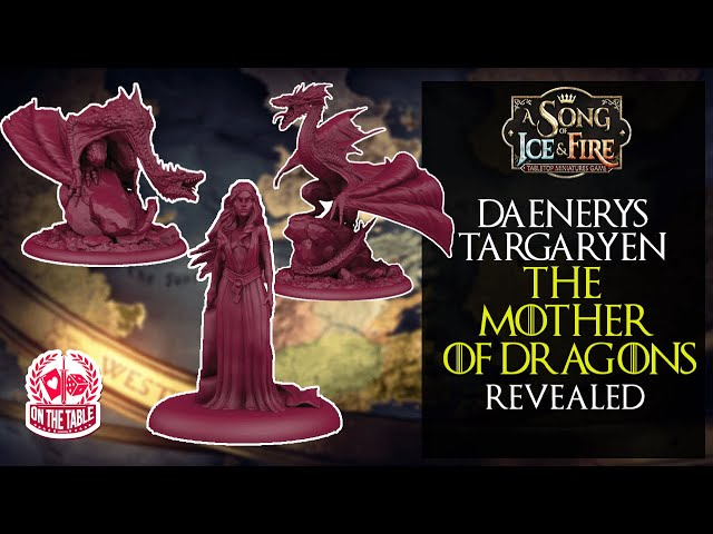 Dragons for A Song of Ice and Fire the Miniatures Game!