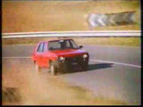 Spot Fiat Ritmo Super, spot tedesco