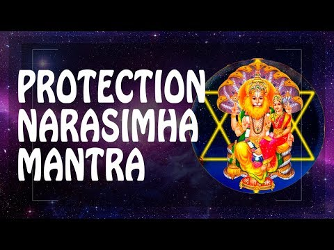GREAT PROTECTION MANTRA - NARASIMHA LORD MANTRA ॐ Powerful Mantras