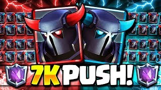7000+ ULTIMATE TROPHY PUSH!! TOP 100 LADDER GAMEPLAY! - RTUC#5
