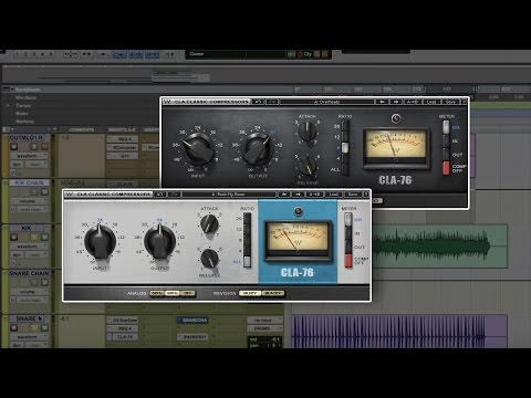 Parallel Compression for Drums with CLA-76 and PuigTec EQ