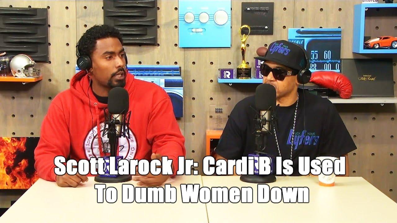 Scott LaRock Jr: Cardi B Is Used To Dumb Women Down, They Got Rid Of Lauryn Hill For Uplifting Women