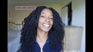 Quick hair care advice