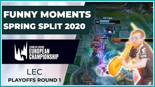 Funny Moments - LEC Playoffs Round 1 - Spring Split 2020