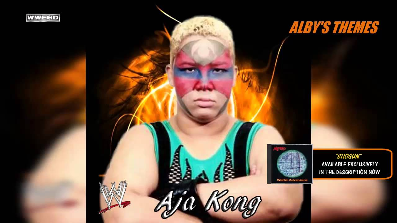 1995  aja kong 1st wwe dubbed theme song