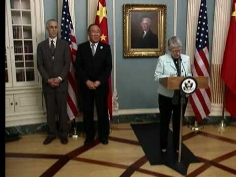 Secretary Clinton Delivers Remarks at U.S.-China EcoPartnerships Signing Ceremony  (Full)