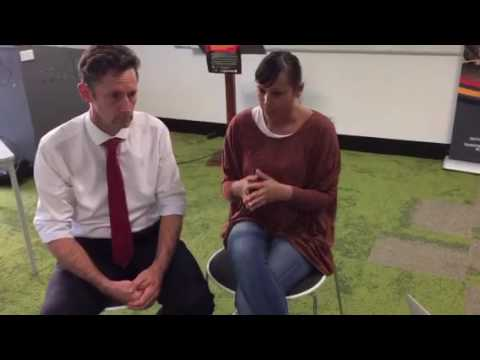 On #IHMayDay16, Summer May Finlay talks with Stephen Jones MP at Wollongong University
