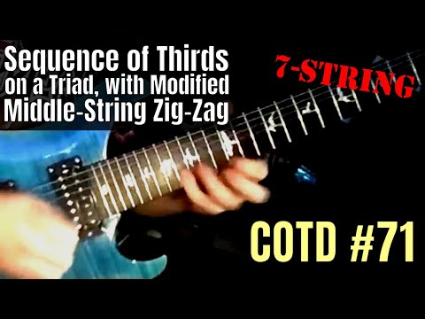 ShredMentor Challenge of the Day #71: Position-Shifting 7-String Arpeggio