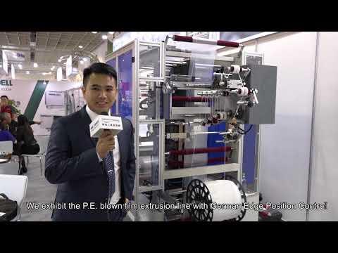 MING JILEE@ Taipei Plas 2018 Zipper Bag Making Machine MGA-06Z-700A