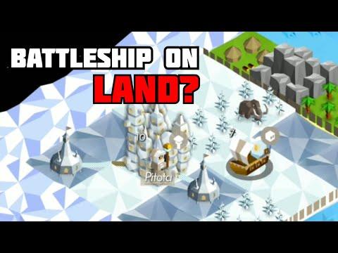 (FIXED) Polaris Battleship ON LAND? | The Battle of Polytopia Polaris Glitch |