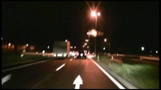 あさか野バイパス 上り(夜間走行) 〔HD車載動画〕
