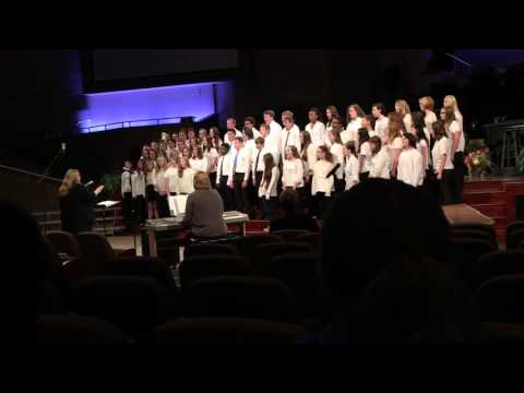 "South Doyle middle school, ""cantata domino"" at ETVA Choral festival"