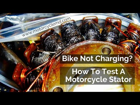 How to test a motorcycle stator
