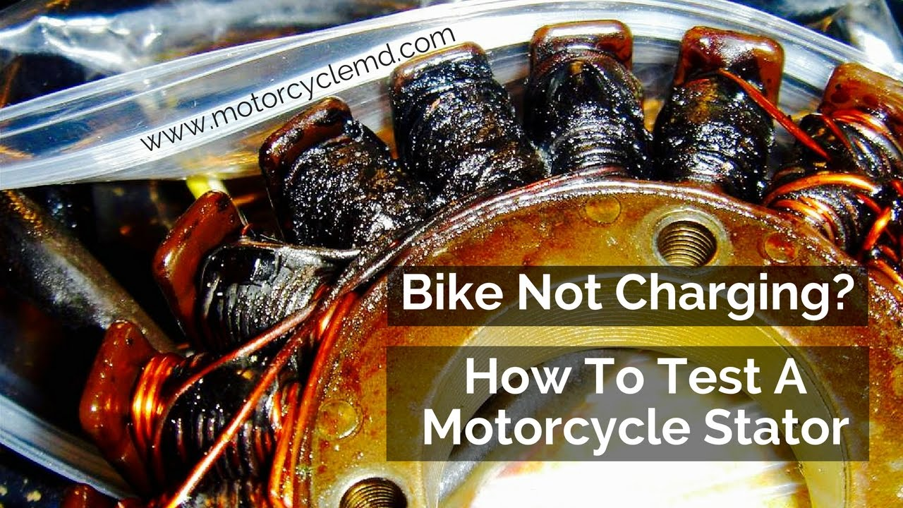 hight resolution of how to test a motorcycle stator