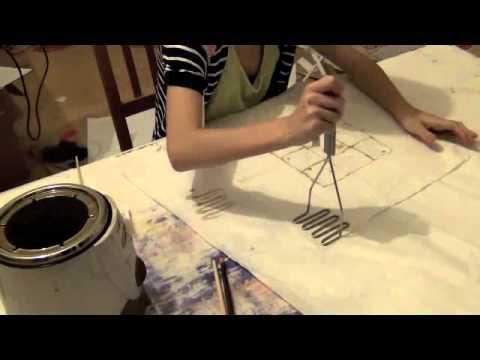 Batik Painting - Tools