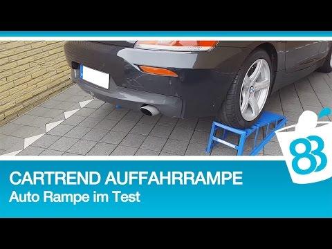 Cartrend Auffahrrampen Auto Rampe Im Test Youtube
