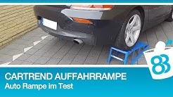 Cartrend Auffahrrampen - Auto Rampe im Test