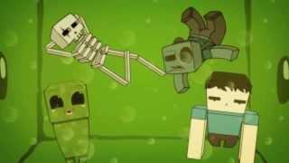Приключения Стива и Крипера #3 [MineCraft Мультфильм].(MineCraft мультфильм