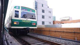 서울 전철 2호선 성수지선 성수역 신설동행 서울교통공사…